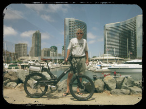 Turbo Bob with his A2B Velocity E-Bike