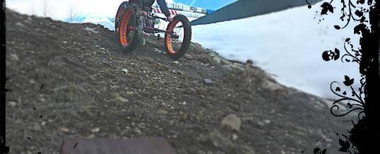 Jake O'Connor and his Reactive Adaptation Bomber Bike